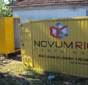 Container Banheiro e Almoxarifado